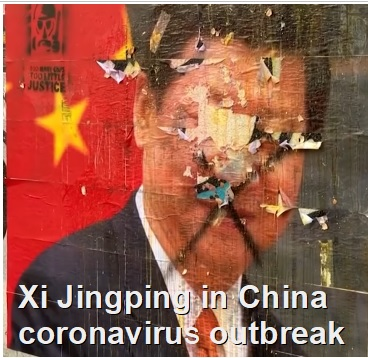 Xi jinping in China coronavirus outbreak
