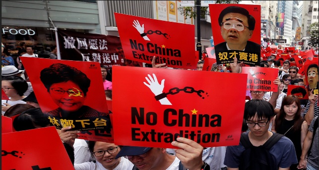 Hong Kong protect no china extradition
