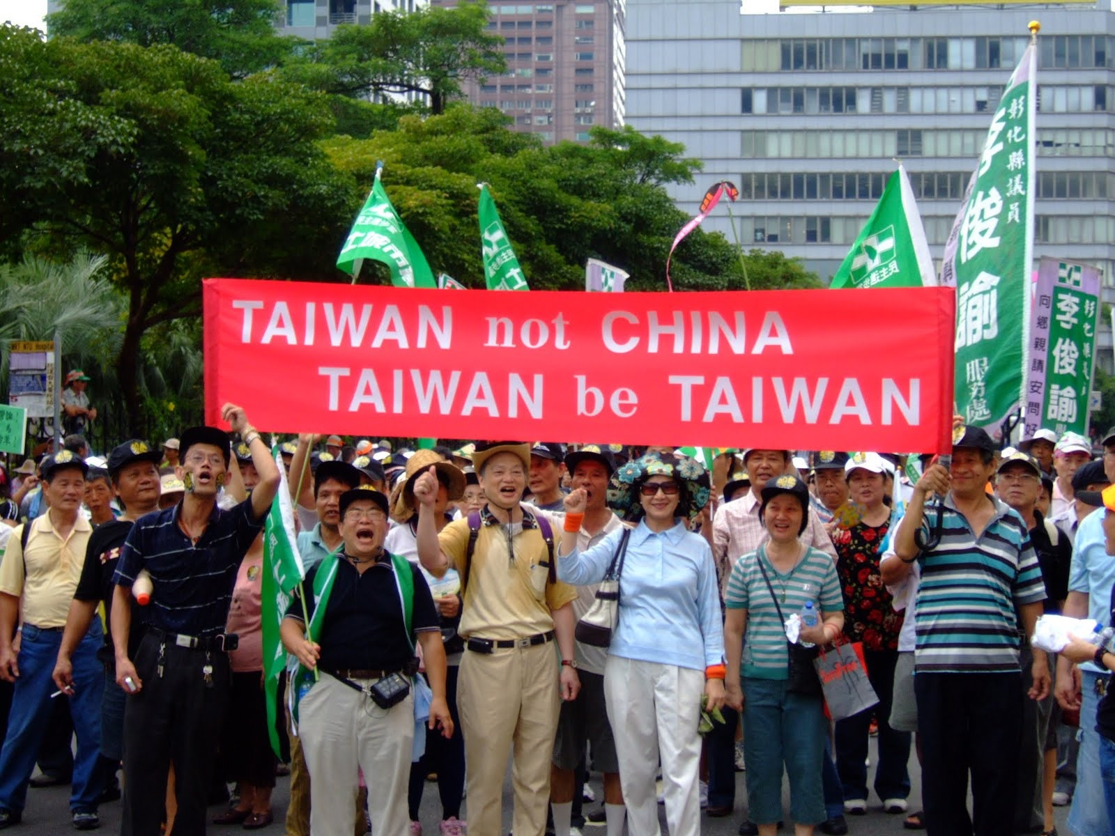 Republic Taiwan independence, Taiwan is not part of china, Taiwan be Taiwan
