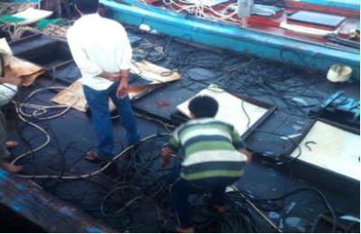 tàu cá việt nam bị trung cộng tấn công ở đảo lý sơn