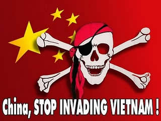 china, stop invading viet nam